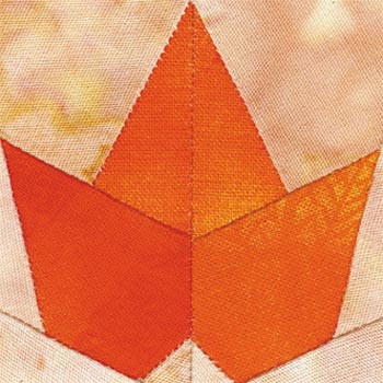 Maple Leaf Paper Pieced Quilt Block Pattern