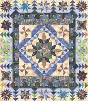 Kaleidoscope Dreams Paper Pieced Quilt Pattern
