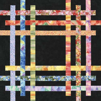 Frame Up Paper Pieced Quilt Pattern