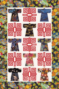 Jinbaori Paper Pieced Quilt Pattern