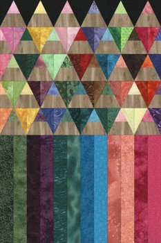 Colored Pencils Paper Pieced Quilt Pattern