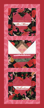 Be Mine Valentine Paper Pieced Quilt Pattern
