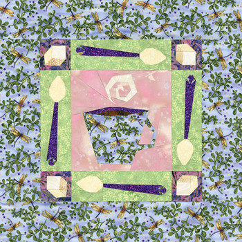 Tea Time Paper Pieced Quilt Pattern