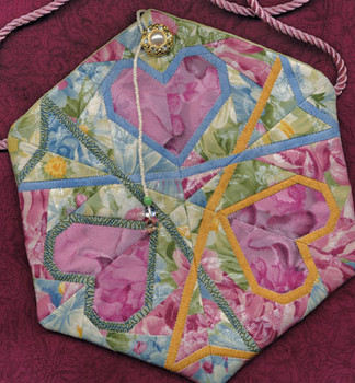 Valentine Snow Purse Paper Pieced Quilt Pattern