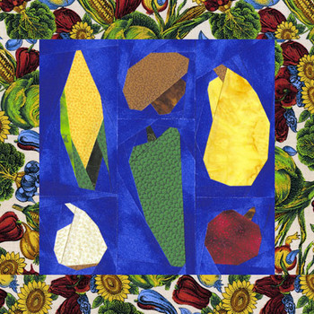 Veggie Sampler Paper Pieced Quilt Pattern