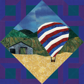 Nature Collection - Summer Breeze Paper Pieced Quilt Pattern