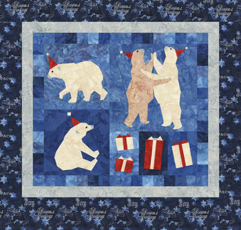 Party Animals Paper Pieced Quilt Pattern