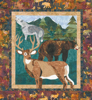 Wild Adventures Paper Pieced Quilt Pattern