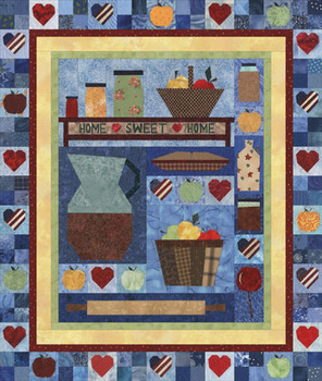 Apple Festival Paper Pieced Quilt Pattern