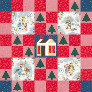 Winter Fun Paper Pieced Quilt Pattern