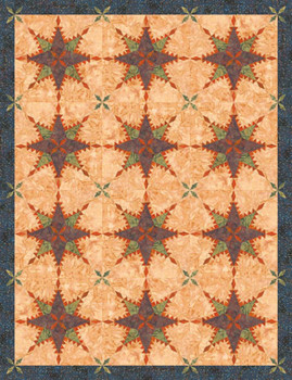 Turkey Feathers Paper Pieced Quilt Pattern