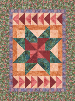 Newport Star Paper Pieced Quilt Pattern