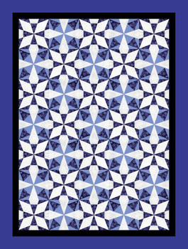 Joseph's Snowflakes Paper Pieced Quilt Pattern