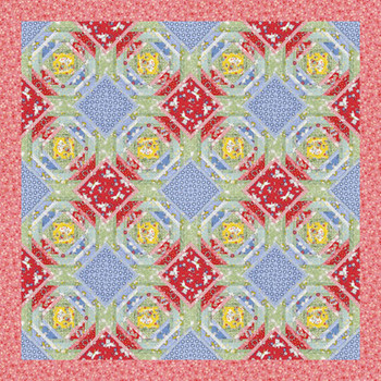 Foxtrot Paper Pieced Quilt Pattern
