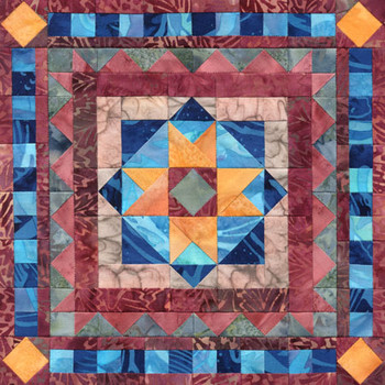 Cape Henry Illuminations Paper Pieced Quilt Pattern