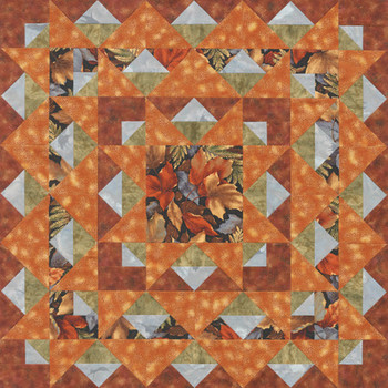 Autumn's Glory Paper Pieced Quilt Pattern