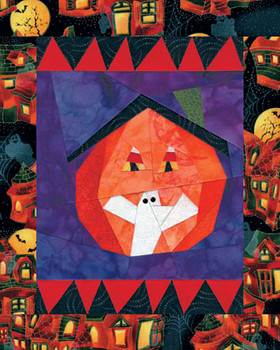 Trick or Treat Paper Pieced Quilt Pattern