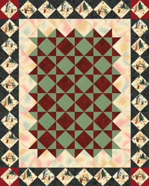 Starlight, Starbright Paper Pieced Quilt Pattern