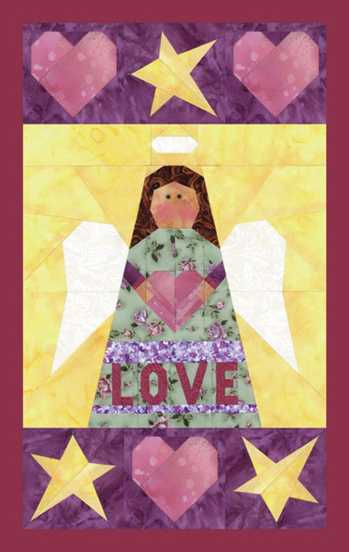 Matryoshka Angel Paper Pieced Quilt Pattern