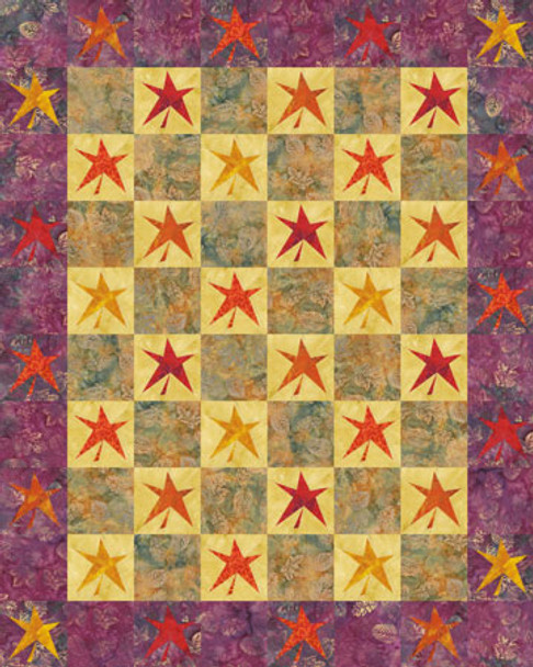 Leaves of Change Paper Pieced Quilt Pattern
