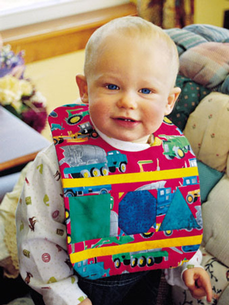 Baby Blocks Bib Paper Pieced Quilt Pattern