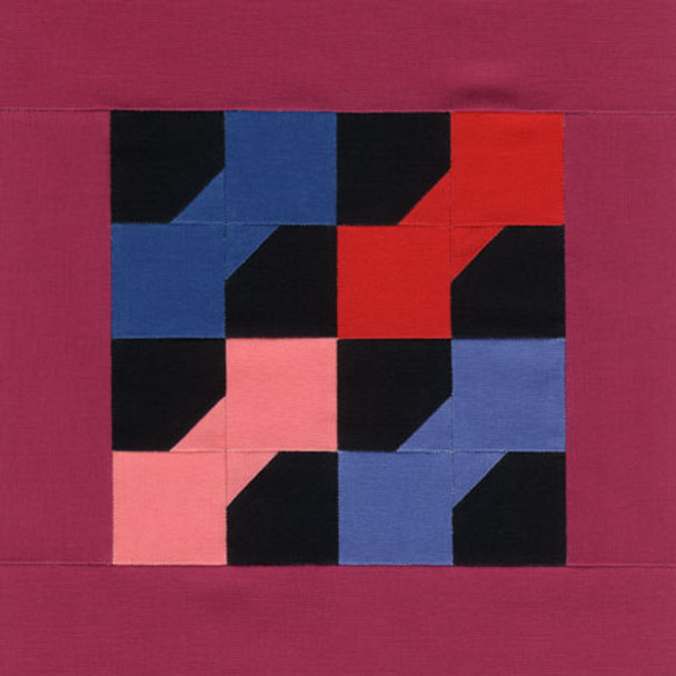 Amish Bow Tie Paper Pieced Quilt Pattern