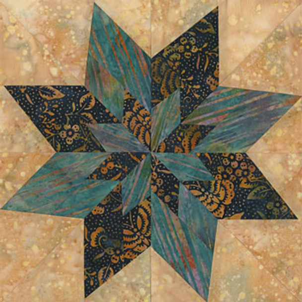 Philadelphia Proud Paper Pieced Quilt Block Pattern