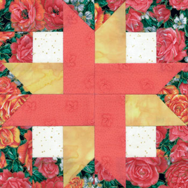 Mom's Favorite Paper Pieced Quilt Block Pattern