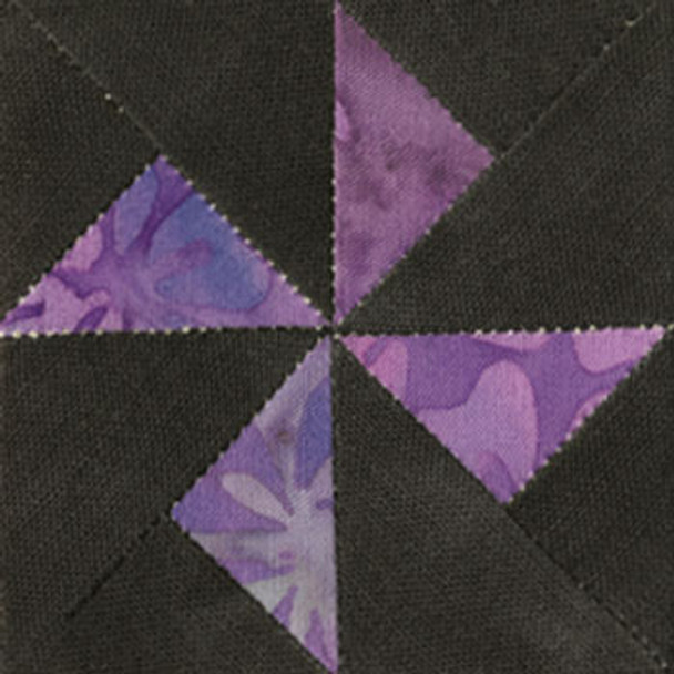 Whirligig Quilt Paper Pieced Block Pattern