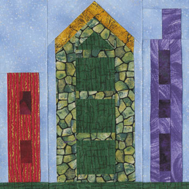 Bird Highrise Paper Pieced Quilt Block Pattern