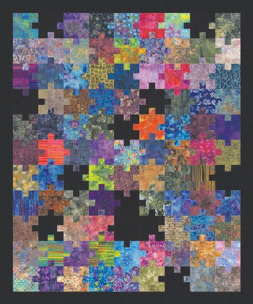 Puzzling Pieces Paper Pieced Quilt Pattern