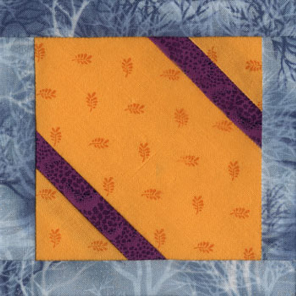 Gift Box Free Paper Pieced Quilt Block Pattern