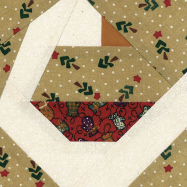 Snow Goose Paper Pieced Quilt Block Pattern