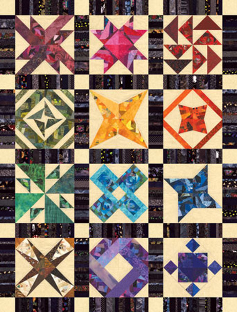 Crazy Traditions Paper Pieced Quilt Pattern