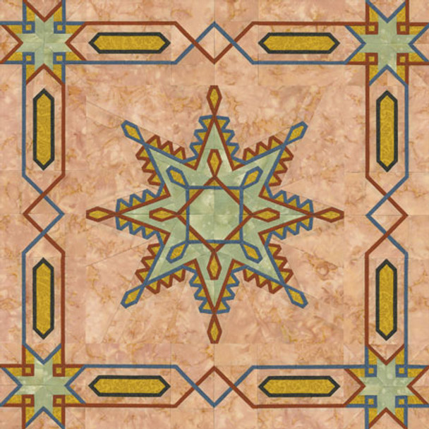 Celtic Snowflake Paper Pieced Quilt Pattern