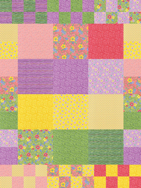 Box of Crayons Paper Pieced Quilt Pattern