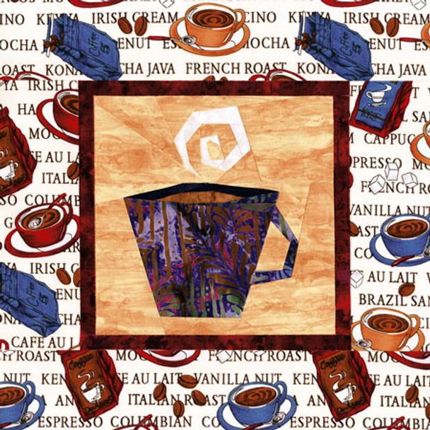 Cup Of Joe Paper Pieced Quilt Pattern