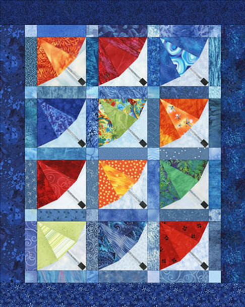 Under Cover Paper Pieced Quilt Pattern