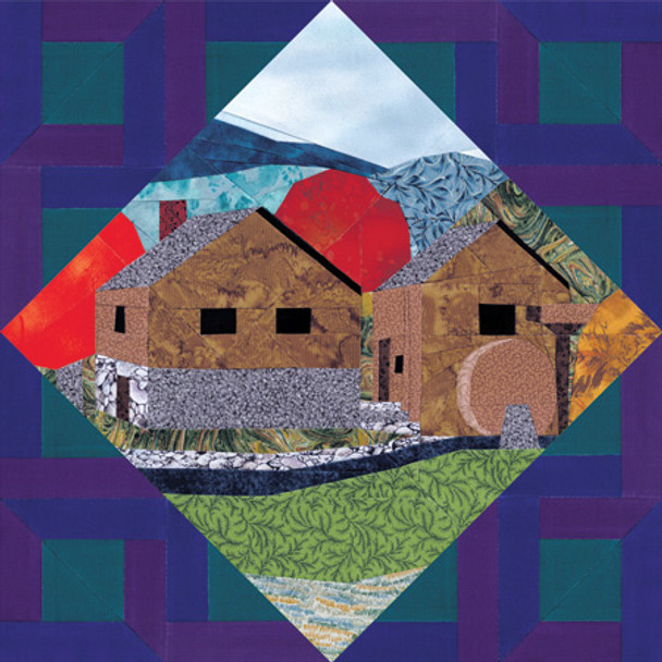 Nature Collection - The Homestead Paper Pieced Quilt Pattern