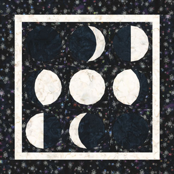 Phases of the Moon Paper Pieced Quilt Pattern