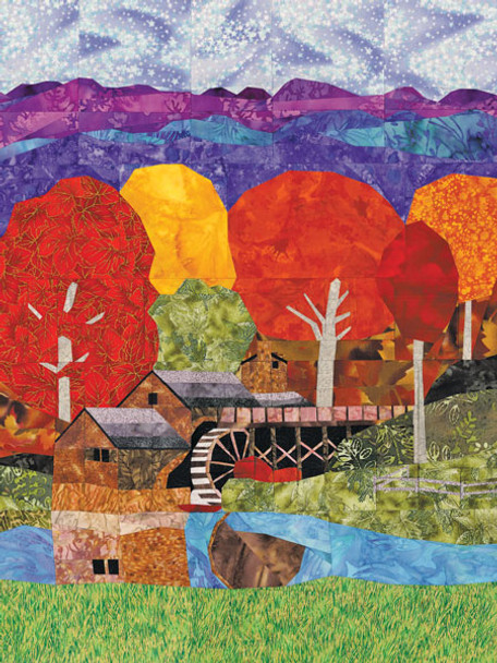 Mabry Mill Paper Pieced Quilt Pattern