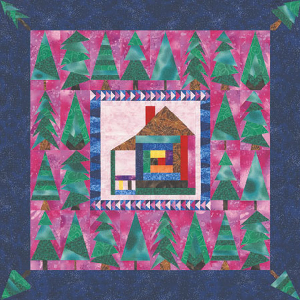 Home Sweet Home Paper Pieced Quilt Pattern