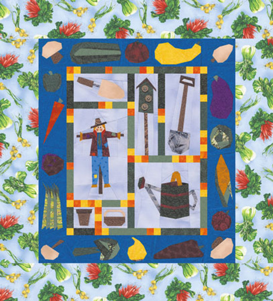 Home Grown Paper Pieced Quilt Pattern