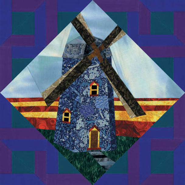 Nature Collection - Dutch Mill Paper Pieced Quilt Pattern