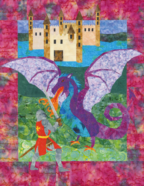 Dragon's Tale Paper Pieced Quilt Pattern