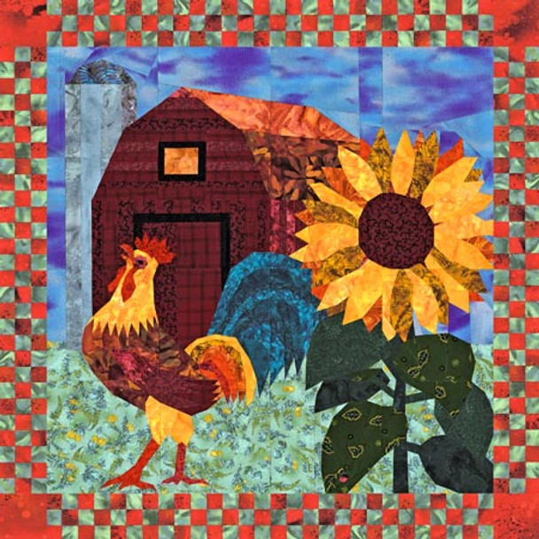 Rise & Shine Paper Pieced Quilt Pattern
