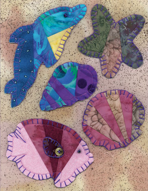 Sea Creature Ornaments Paper Pieced Quilt Pattern