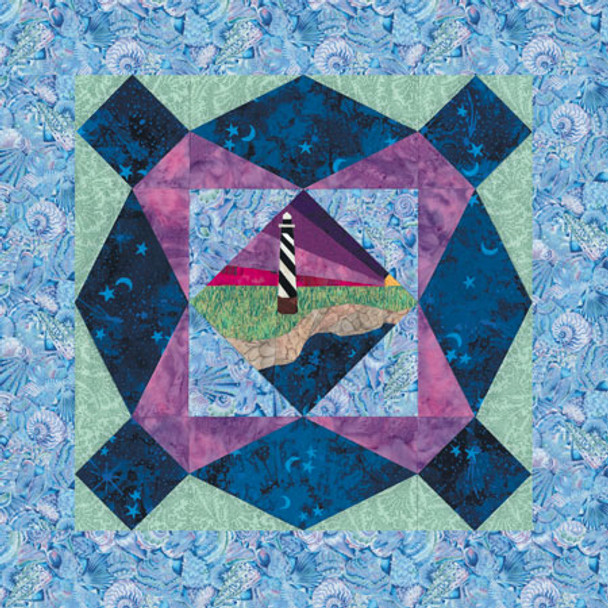 Cape Hatteras Light Paper Pieced Quilt Pattern