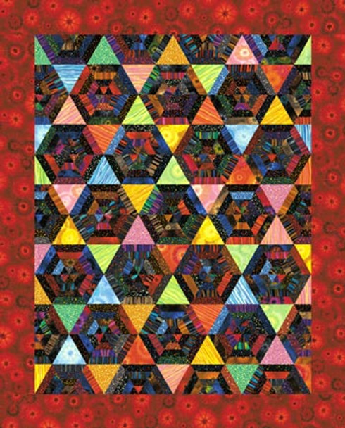 The Spider's Web Paper Pieced Quilt Pattern