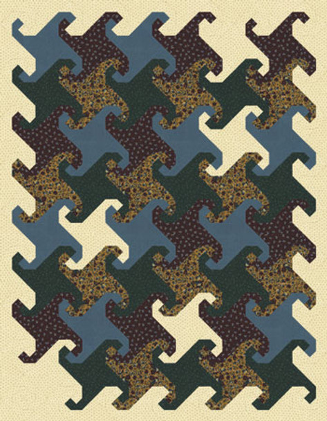 Snowdrifts Paper Pieced Quilt Pattern